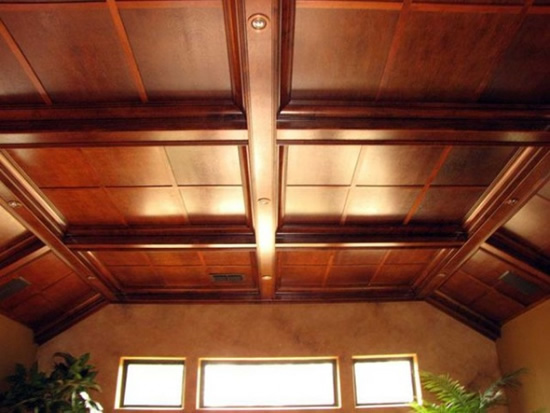 Как сделать потолок гипсокартон в деревянном доме