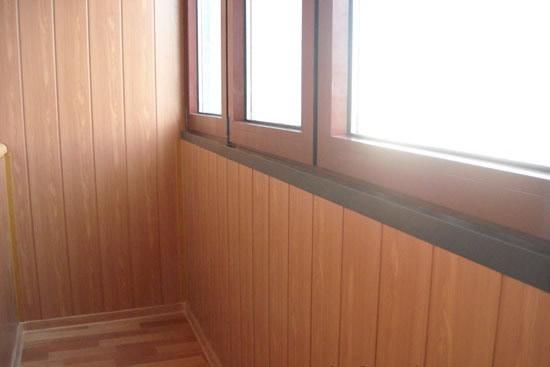 как обшить балкон дсп