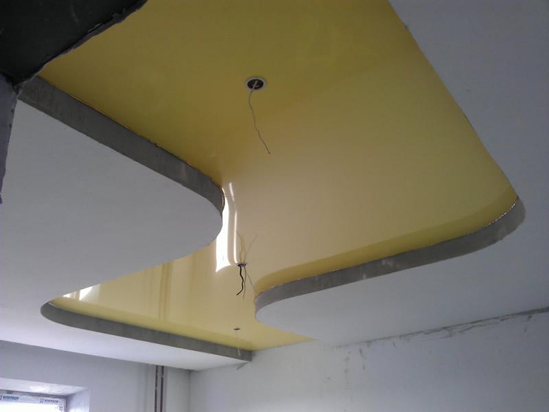 Продажа и установка натяжных потолков