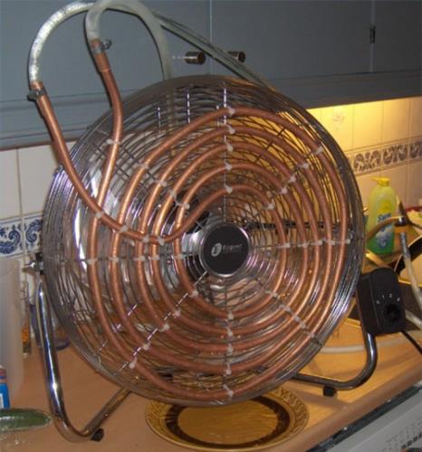 Как вентилятор в домашних условиях